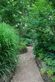 gravel garden path ideas landscape asian with rock garden green