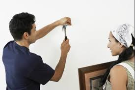 hang picture diy fixes for your apartment how to hang heavy objects on your