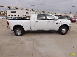 2012 Dodge Ram Truck 3500 Longhorn - bright white 2012 dodge ram 3500 hd laramie longhorn mega cab 4x4