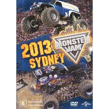 monster truck show 2013 monster jam sydney 2013 dvd big w
