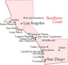 california map of major cities your info