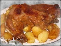 cuisiner une cuisse de dinde en cocotte cuisse de dinde au miel épices cuisson cocotte recette ptitchef