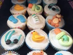 unique cupcakes for baby shower washcloth cupcake its a boy unique