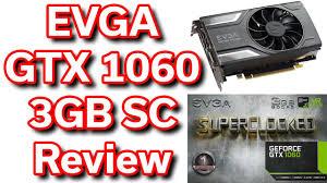 black friday 1060 gtx amazon evga geforce gtx 1060 3gb superclocked unboxing u0026 review youtube