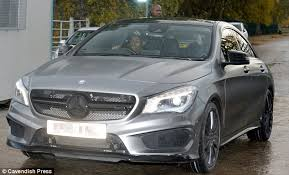 mercedes in manchester manchester united ace cruising his n30m car allsoccerplanet