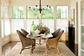bedroom window treatments southern living nashville idea house tour curtain hanging cafe curtains and