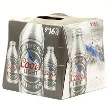 Coors Light 24 Pack Coors Light Beer 16oz Aluminum Bottle 9 Pack Beer Wine