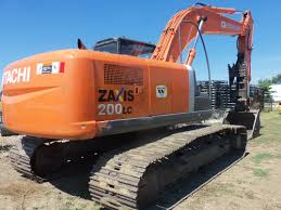 hitachi zaxis 200 lc hydraulic excavator construction equipment