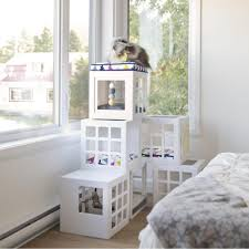 Shelves For Cats by Be One Breed Katt3 Trendy Kube House For Cats Canvasback Pet