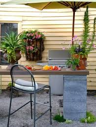 budget friendly ideas for outdoor rooms outdoor patio bar wood