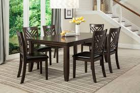 White Wood Dining Room Table by Lebaron Dining Room Collection