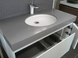 Custom Made Bathroom Vanity Tops by Polyurethane Vanity Corian Dupont Top Custom Made Cabinet Sannine