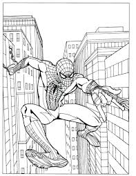 free spiderman and batman coloring pages fresh page spider man