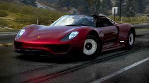 Porsche 918 Red - obi u0027s world wide web of cars nfs pursuit car profiles
