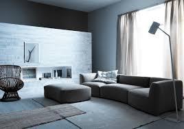 canapé design gris canapé gris 50 designs en nuances grises pour votre salon