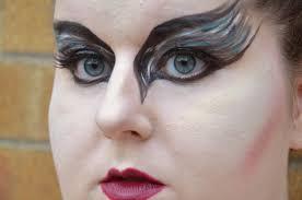 black swan halloween makeup justmelkate uk lifestyle and travel blog black swan inspired