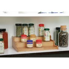 Kitchen Cabinet Spice Rack Organizer Seville Classics 8 1 4 In X 8 3 4 In X 3 1 3 In Expandable