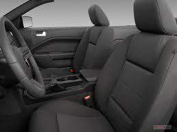 Black 2009 Mustang 2009 Ford Mustang Interior U S News U0026 World Report