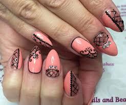 25 lace nail art designs ideas design trends premium psd