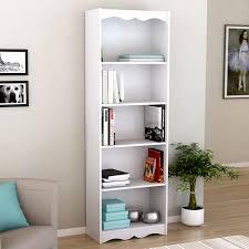 Sauder Premier 5 Shelf Composite Wood Bookcase by Furniture Home 14200535 Modern Elegant New 2017 Design Furniture