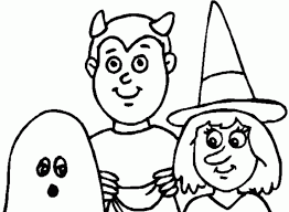easy halloween coloring pages coloring