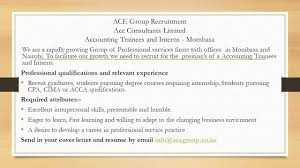Certified Public Accountant Cover Letter Ace Associates Certified Public Accountants Linkedin
