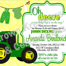 john deere birthday party invitations birthday decoration