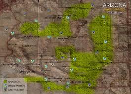 Arizona Map by Arizona World Map Wasteland 2 Wasteland 2 Walkthrough Game