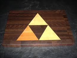 High Tech Cutting Board Coolest Latest Gadgets U2013 Legend Of Zelda Triforce Cutting Board