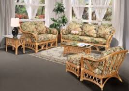 Rattan Living Room Furniture Rattan And Wicker Furniture Sets Kozy Kingdom