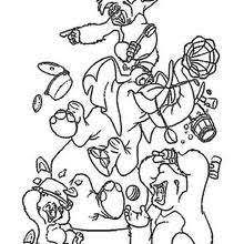jungle book 64 coloring pages hellokids