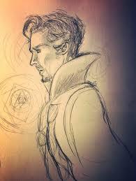 doctor strange sketches marvel amino