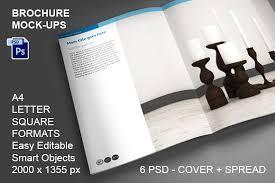 brochure mock ups 6 psd a4 brochure templates psd a4 size