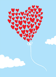 thank you e card thank you ecard heart balloon thank you from cardfool