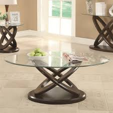 coaster furniture 702788 occasional group glass top intersecting