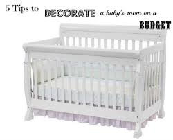 Decorating A Nursery On A Budget Decorating A Baby S Room On A Budget