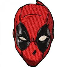 halloween patches marvel comics deadpool u0027s head iron on applique patch