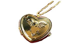 necklace with locket images Undertale collectors edition heart shaped musical locket jpg