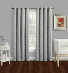 Jacquard Curtain Special Deals National Mystic Jacquard Curtain With Grommets 4