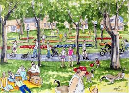 wash park sketching or denver u0027s washington park my ink sketch
