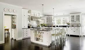 kitchen inspiring modern white kitchen decoration design ideas