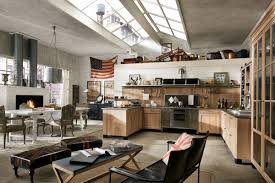 Industrial And Rustic Designs Resurfaced Marchi Group Kitchen Panamera Vintage Style Kitchen Artisanal