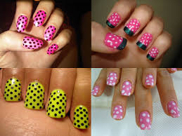 easy nail paint designs how you can do it at home pictures