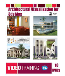 learn 3ds max for architectural visualization bundle course pack