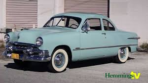 1951 ford custom club coupe youtube