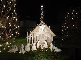 Lighted Outdoor Christmas Nativity Scene by Outdoor Christmas Nativity 1 U2014 Jen U0026 Joes Design Best Outdoor