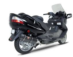 yoshimura r77 race exhaust system suzuki burgman 650 2006 2012