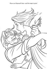 free coloring pages disney princess tangled rapunzel for toddler