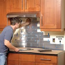 kitchen backsplash stainless steel tiles stainless steel kitchen backsplash more backsplash ideas ideas