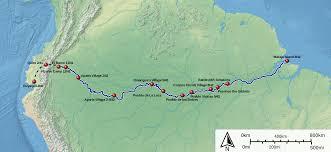 Amazon Maps File Francisco De Orellana Amazon River Voyage 1541 1542 Svg